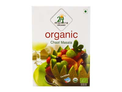 Organic CHAT MASALA Online at Orgpick.com by 24Mantra.