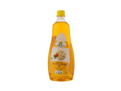 Certified Organic COLD PRESSED SAFFLOWER(Kardai) OIL Online At Orgpick.com by 24Mantra