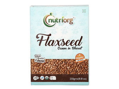 Certified Organic Flax Seed (Nutriorg)