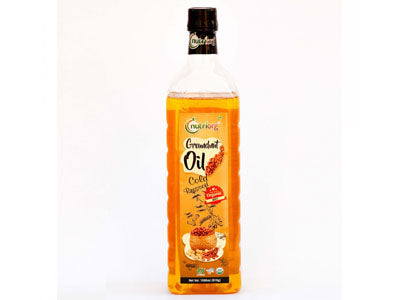 Buy Best Quality Certified Organic Cold-Pressed Groundnut Oil Online from Orgpick