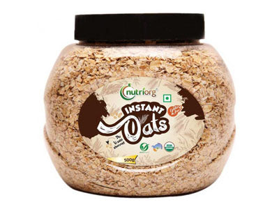 Buy Best Quality Certified Organic Instant Oats Online from Orgpick