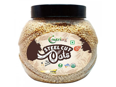 Buy Best Quality Certified Organic Steel Cut Oats Online from Orgpick