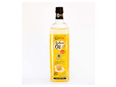 Buy Best Quality Certified Organic Cold-Pressed Sunflower Oil Online from Orgpick