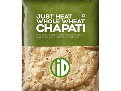 Buy iD Fresh Natural Chapati Online,300gm