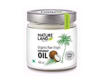 Organic Coconut Oil (Natures-Land)