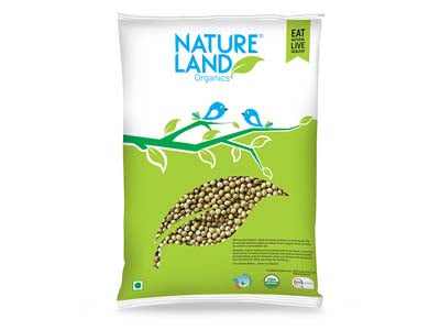 Organic Coriander Whole (Nature-Land)