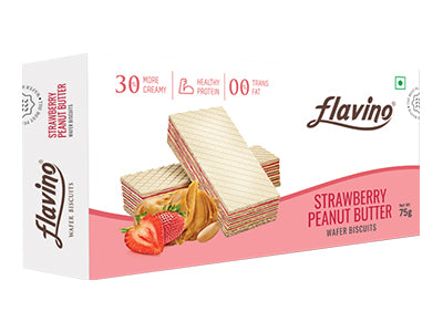 Strawberry Peanut Butter Wafer Biscuit (Flavino)