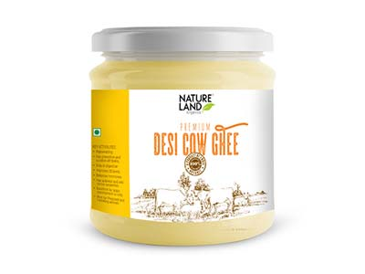 Organic Desi Cow Ghee (Natures-Land)