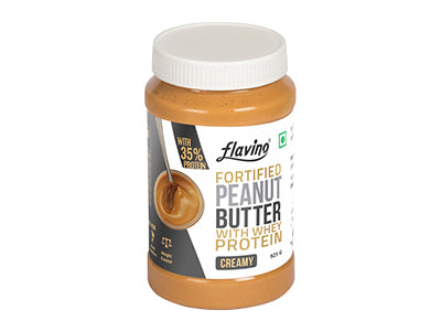 Buy Peanut Butter With Whey Protein - Creamy Online At Orgpick