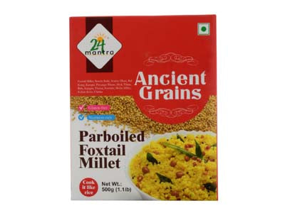 Healthy Certified Organic FOXTAIL MILLET Online at Orgpick.com by 24Mantra.