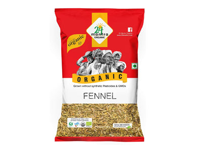 Buy 24 Mantra Organic Fennel Seed Online At Orgpick