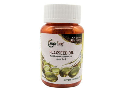 Shop Flax Seed Oil Soft Gel Capsule Online