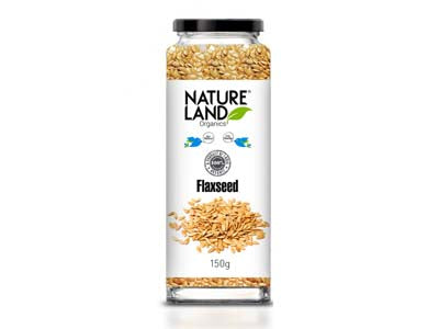Organic Flaxseed Raw (Nature-Land)