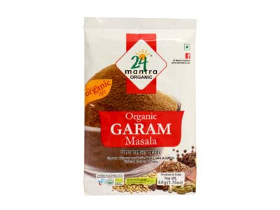Certified Organic GARAM MASALA Online at Orgpick.com by 24Mantra.