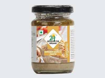 Certified Organic GINGER PASTE Online at Orgpick.com by 24Mantra.