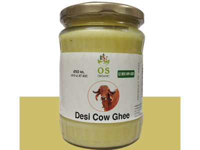 Natural A2 Desi Cow Ghee (Orgasatva)