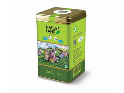 Organic Green Tea (Natures-Land)