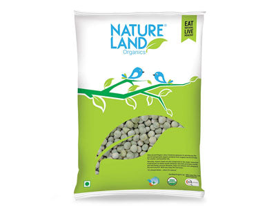 Buy Natureland's Organic Green Peas Online At Orgpick