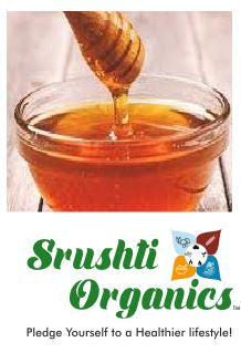Organic Honey Plain (Srushti Organics)