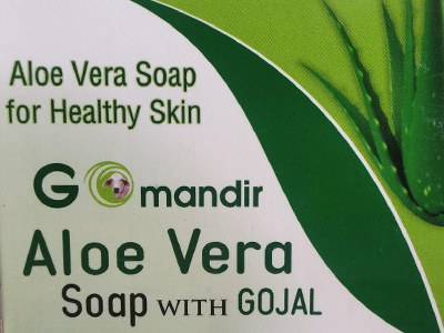 Aloe Vera Soap with Gojal (Go Mandir)