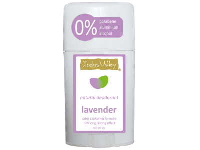 Natural Deodorant Lavender (Indus Valley)