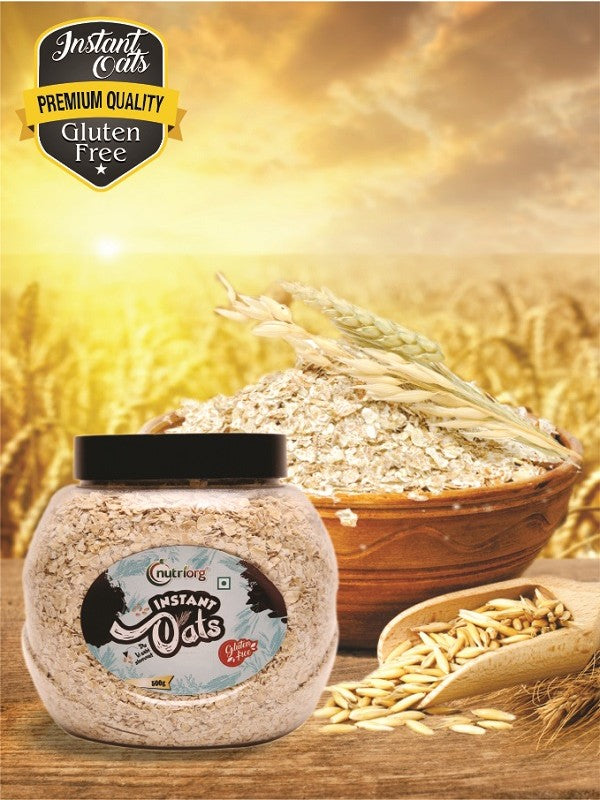 Buy Best Quality Instant Oats Online from Orgpick