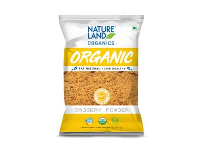 Organic Jaggery Powder (Nature-Land)