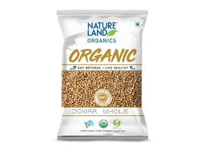 Organic Jowar Whole (Nature-Land)