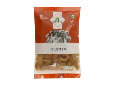 Healthy Certified Organic KISMIS Online at Orgpick.com by 24Mantra.