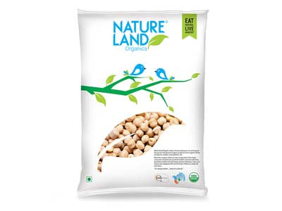 Organic Kabuli Chana (Nature-Land)