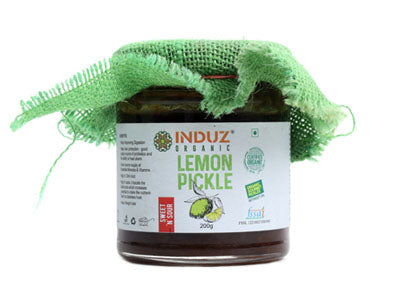 Buy Organic Lemon Pickle Online at Orgpick