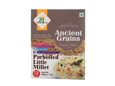 Certified Organic LITTLE MILLET Online at Orgpick.com by 24Mantra.