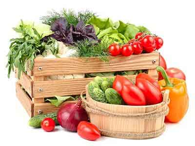Organic Large Vegetable Box