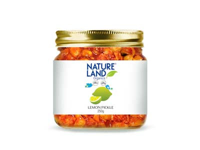 Organic Lemon Pickle (Natures-Land)