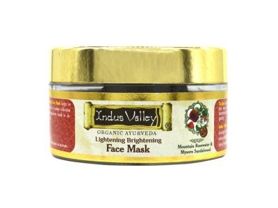 Lightening and Brightening Mask with Rose and Sandalwood (Indus Valley)