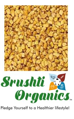 Buy Srushti Organics Methi/Fenugreek Seeds Online,100gm-Orgpick