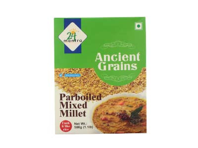 Certified Organic MIXED MILLETS Online at Orgpick.com by 24Mantra.