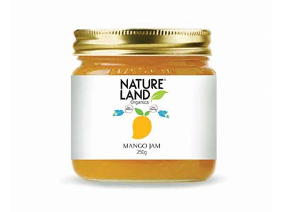 Organic Mango Jam (Nature-Land)