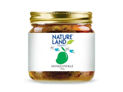 Organic Mango Pickle (Natures-Land)