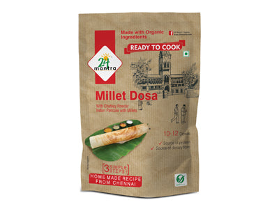 Buy 24 Mantra Organic Millet Dosa Mix Online from Orgpick