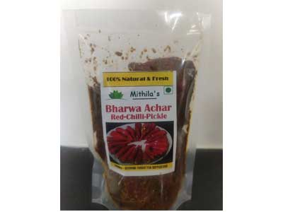 Shop 100% Natural Bharwa Achar-Red Chilli-Pickle Online At Orgpick