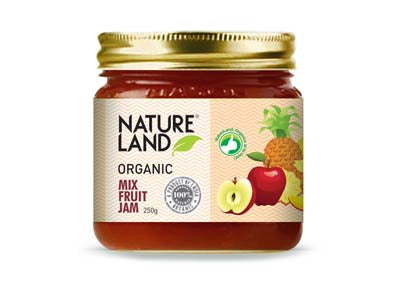 Organic Mix Fruit Jam (Nature-Land)