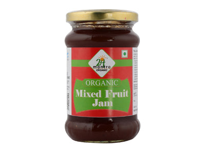 Buy 24 Mantra Organic Mixed Fruit Jam Online At Orgpick