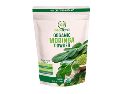 Organic Moringa Powder (Geo-Fresh)