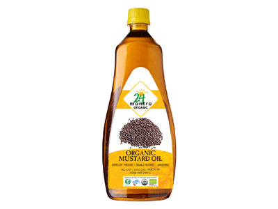 Buy Organic Cold-Pressed Mustard Oil Online At Orgpick
