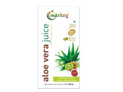 Buy natural Aloe Vera Kiwi Juice Online at Orgpick
