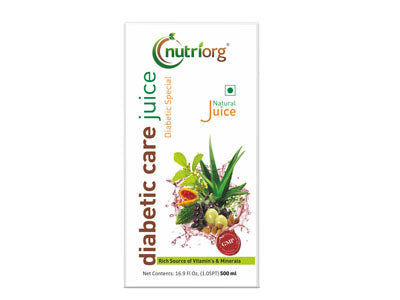 Natural Diabetic Care Juice (Nutriorg)