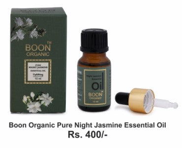 Buy Organic Pure Night Jasmine Essential Oil