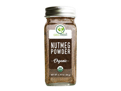 Organic Nutmeg Powder (Geo-Fresh)