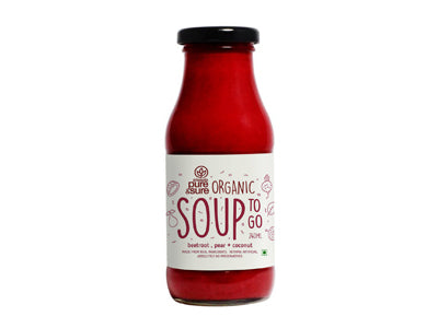 Organic Beetroot and Pear Soup - Orgpick.com